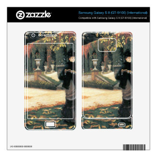 The letter came in handy by James Tissot Samsung Galaxy S II Decal