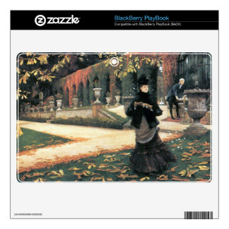 The letter came in handy by James Tissot Decal For BlackBerry