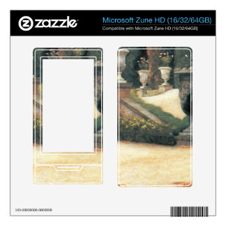 The letter came in handy by James Tissot Zune HD Skin