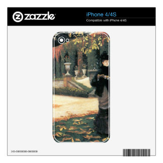 The letter came in handy by James Tissot Skin For The iPhone 4