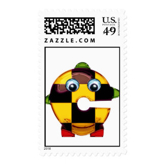 """The letter """"Ceya"""" Postage Stamp"""