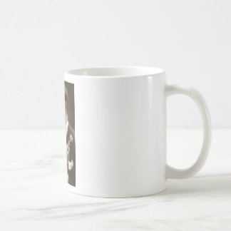 The Letter Classic White Coffee Mug