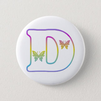 The letter D Button