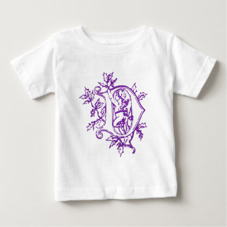 The letter D with Angel Baby T-Shirt