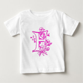 The letter F with Angel Baby T-Shirt