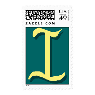 The Letter I Stamp