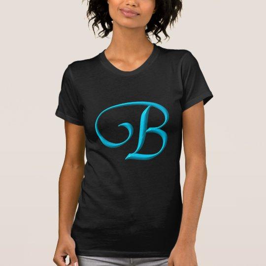The Letter Initial Monogram B T-Shirt