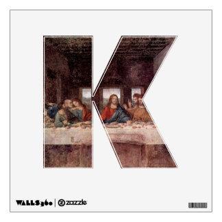 The Letter K - Alphabet Wall Decal - theletterk