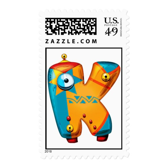 The letter Kappa Postage