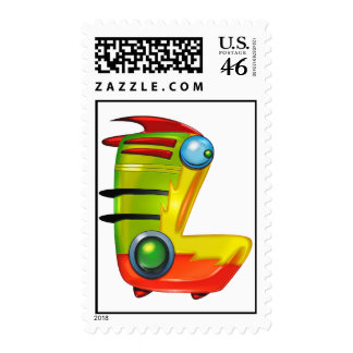 The letter Lamtha Stamps