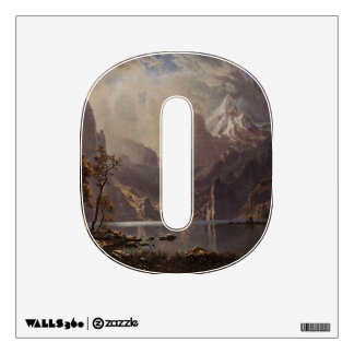 The Letter O - Alphabet Wall Decal - thelettero