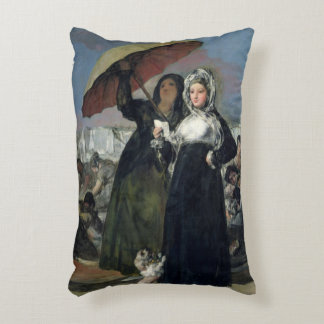 The Letter or, The Young Women, c.1814-19 Accent Pillow