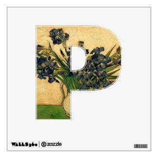 The Letter P - Alphabet Wall Decal - theletterp