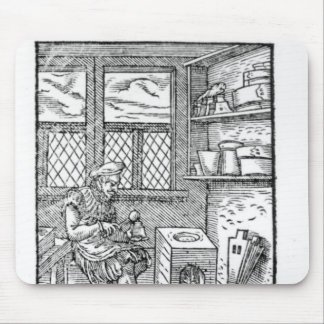 The Letter Plate Maker Mouse Pad