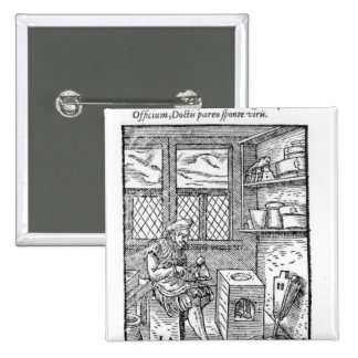 The Letter Plate Maker Pinback Button