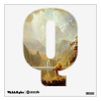 The Letter Q - Alphabet Wall Decal - theletterq