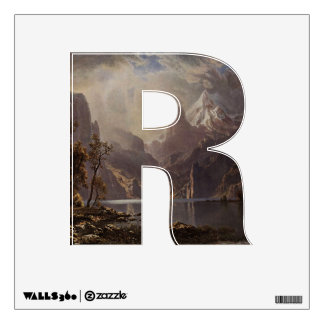 The Letter R - Alphabet Wall Decal - theletterr