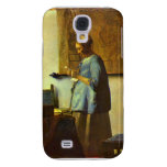 The letter reader by Johannes Vermeer Samsung Galaxy S4 Case