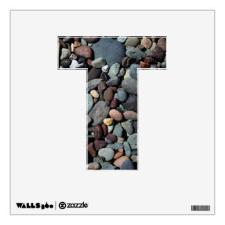 The Letter T - Alphabet Wall Decal - thelettert
