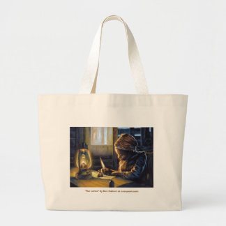 """The Letter, """"The Letter"""" by Ken Calvert at case... Large Tote Bag"""
