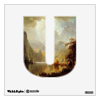 The Letter U - Alphabet Wall Decal - theletteru