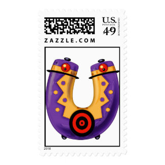 The letter Uti Stamp