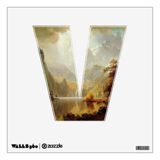 The Letter V - Alphabet Wall Decal - theletterv