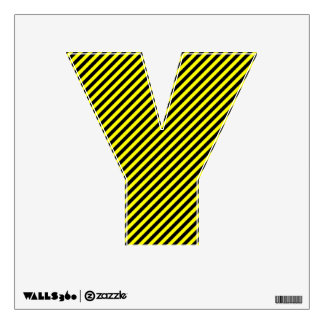 The Letter Y - Alphabet Wall Decal - thelettery