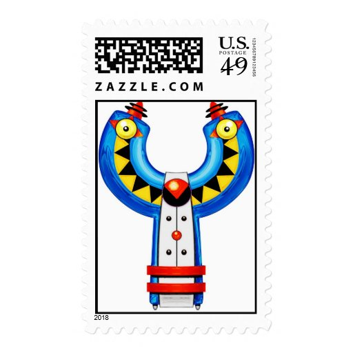 The letter Yot Stamps