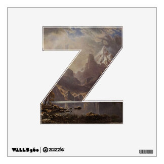 The Letter Z - Alphabet Wall Decal - theletterz