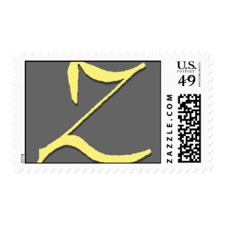 The Letter Z Stamp