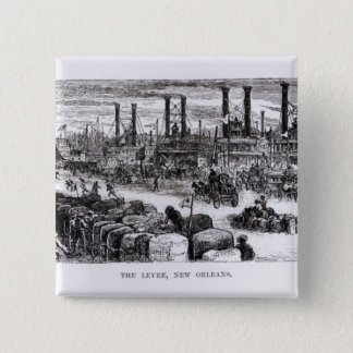 The Levee, New Orleans Button