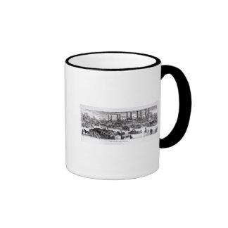 The Levee, New Orleans Ringer Coffee Mug