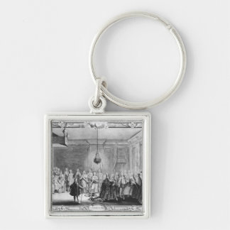 The Levee of King Louis XV Keychain