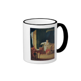 The Levee of Voltaire at Ferney, after 1759 Ringer Coffee Mug