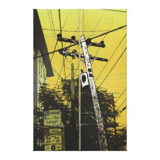 the Lex Canvas Print