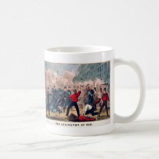 The Lexington of 1861 by Ives Civil War Coffee Mug