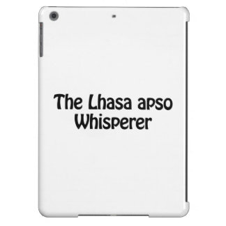 the lhasa apso whisperer iPad air covers