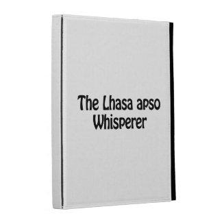 the lhasa apso whisperer iPad folio covers