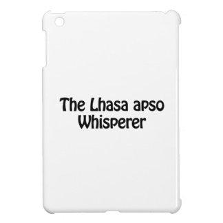 the lhasa apso whisperer iPad mini case