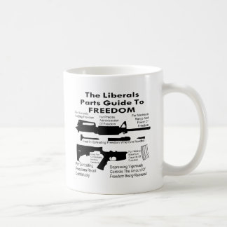 The Liberals Parts Guide To Freedom Coffee Mug