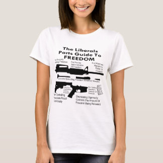 The Liberals Parts Guide To Freedom T-Shirt