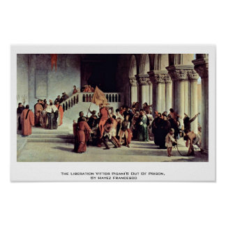 The Liberation Vittor Pisani'S Out Of Prison Print