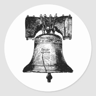 The Liberty Bell Classic Round Sticker