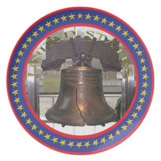 The Liberty Bell plate