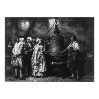 The Liberty Bell's First Note by Jean Leon Gerome Poster