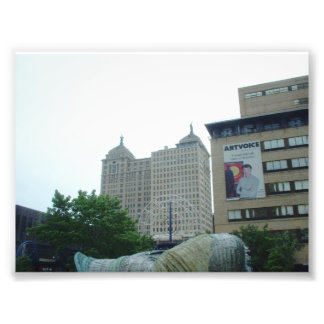 The Liberty Building in Buffalo New York Photo Print