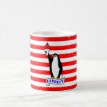 The Liberty Penguin Flag Mug