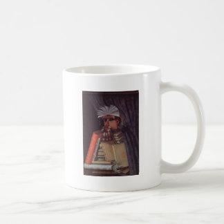 The Librarian by Giuseppe Arcimboldo Classic White Coffee Mug