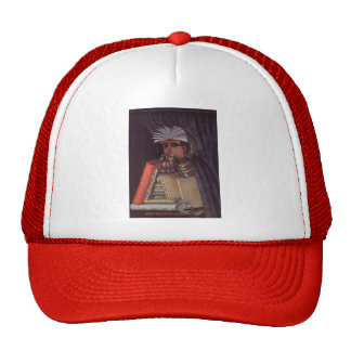 The Librarian by Giuseppe Arcimboldo Mesh Hat